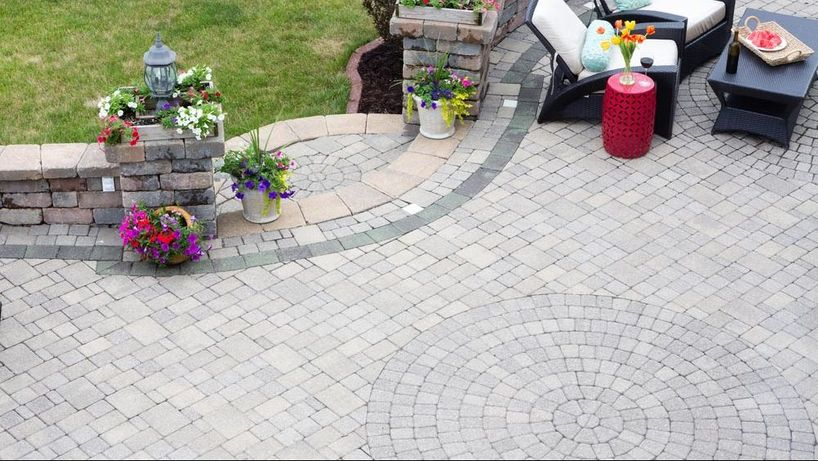 Some of our paving